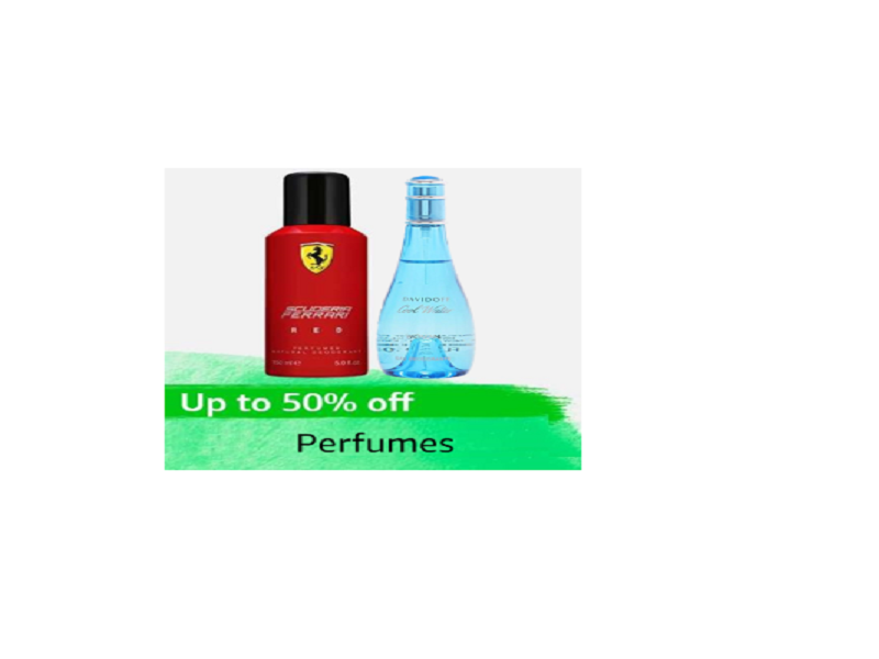 Up to 50% off on Perfume