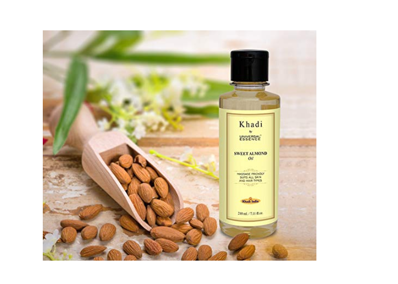 Khadi by Universal Essence Natural & Ayurvedic Sweet Almond Oil