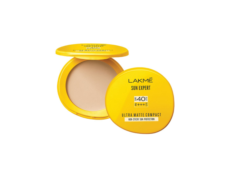 Compact powder with SPF