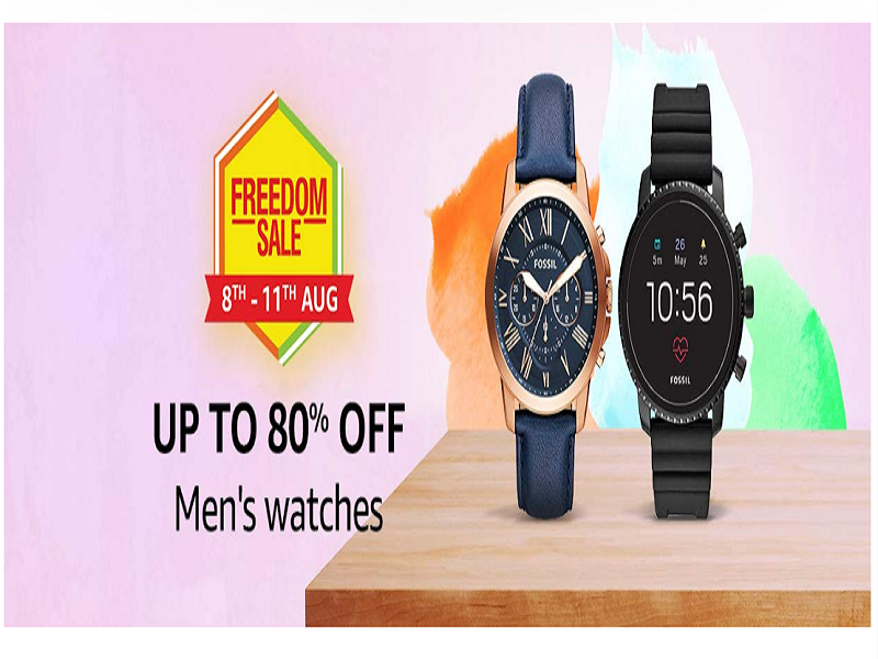 Up to 80% off on men's watches