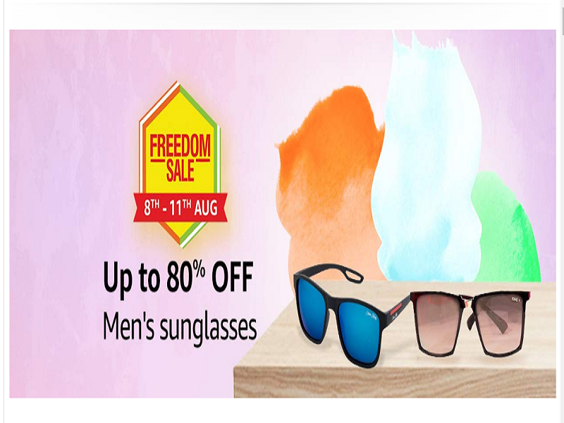 Up to 80% off on men's sunglasses