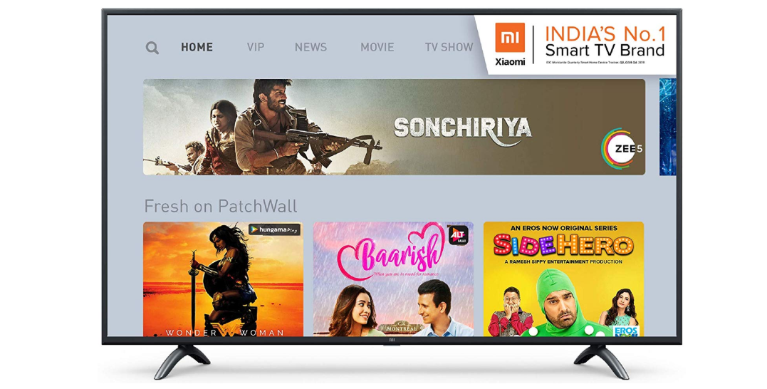 Mi LED TV 4C PRO 80 cm (32) HD Ready Android TV for Rs 12,499