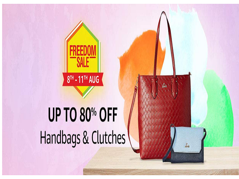 Up to 80% off on women's handbags