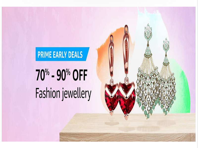 Up to 90% off on Fashion Jewlery