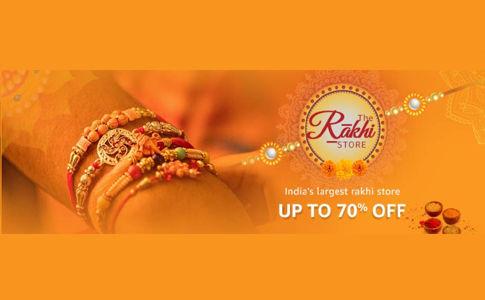 Rakhi threads and combos at 70% off