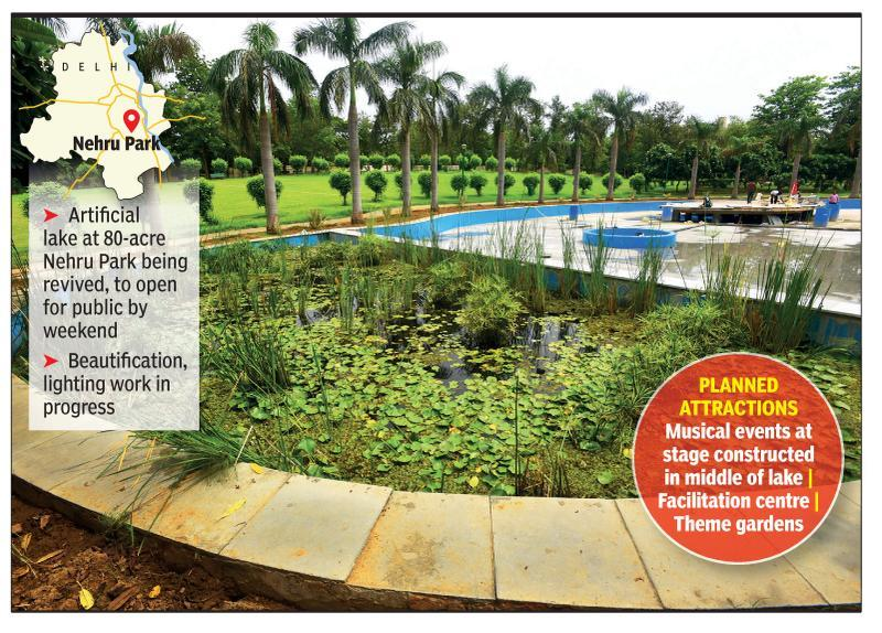 Soon, you can enjoy a musical night by lakeside at Lutyens' Nehru Park