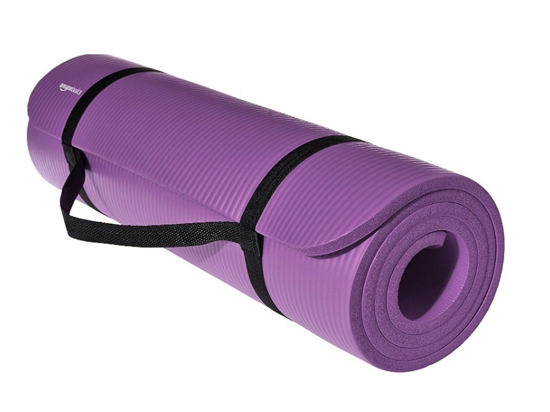 AmazonBasics 13mm Extra Thick Yoga and Exercise Mat