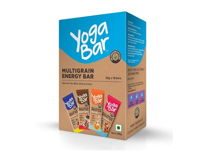 Yogabars Multigrain Energy Bars