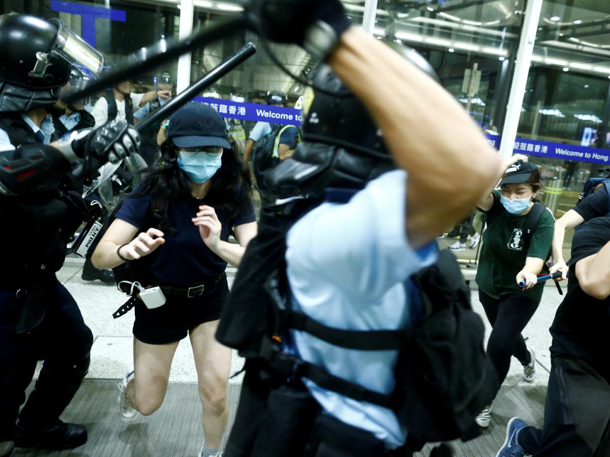 Hong Kong clash
