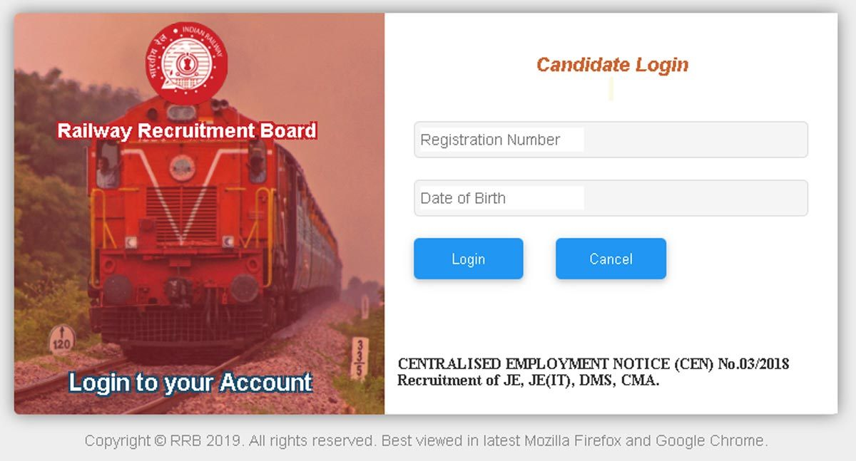 RRB JE CBT 2 exam from August 28
