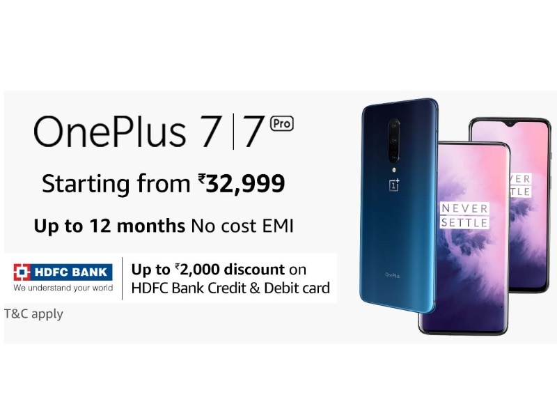 OnePlus 7 and Pro