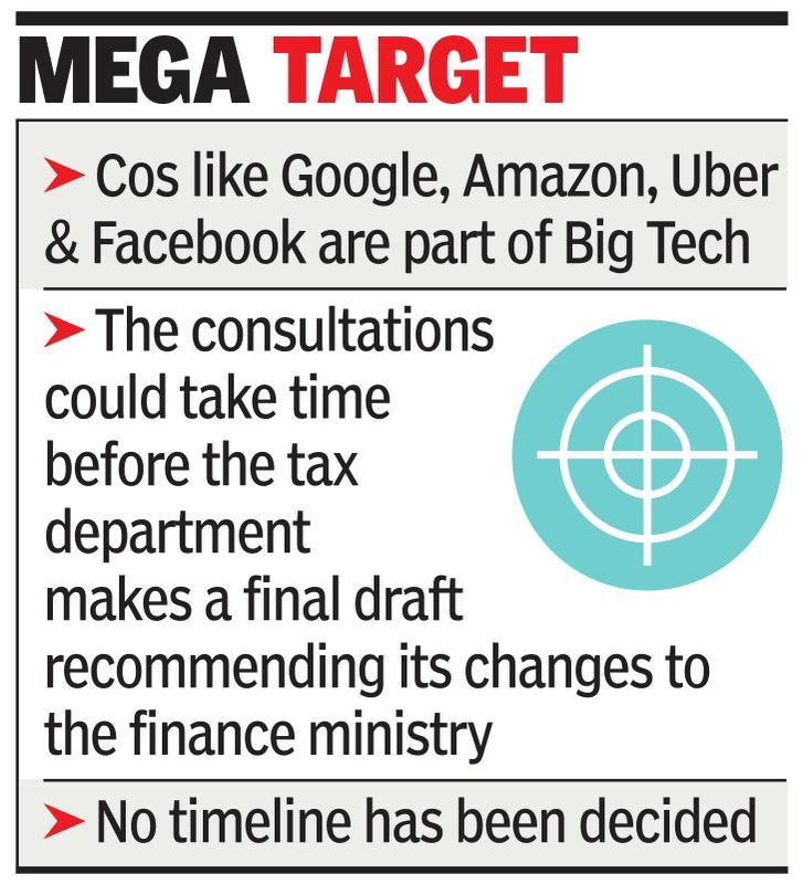 India moves to tax Big Tech, eyes OECD meet