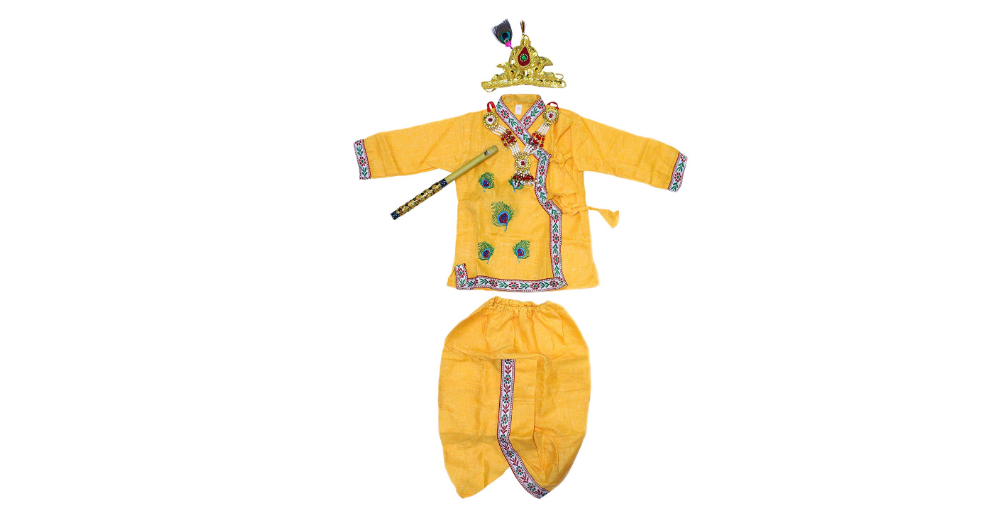Krishna Dress for 0-5 year baby
