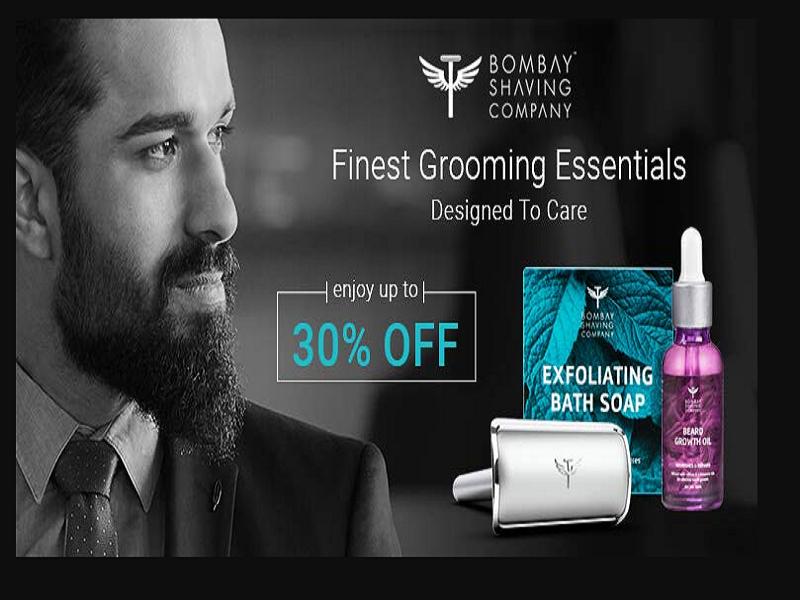 Up to 30% off on Bombay Shaving Company