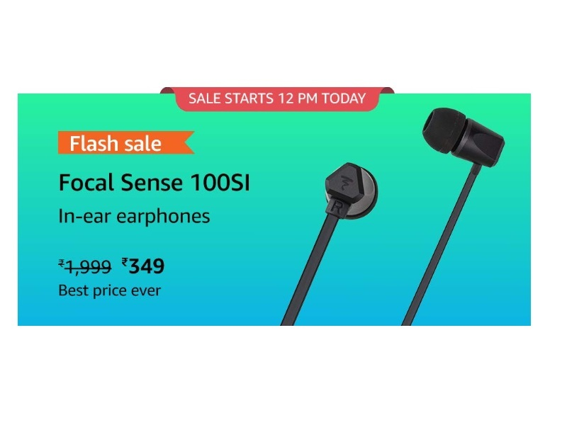 Focal Sense 100SI in-Ear Earphone
