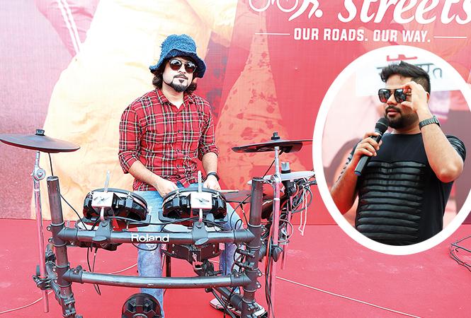Amit Mathews  and Shadab (BCCL/Aditya Yadav)