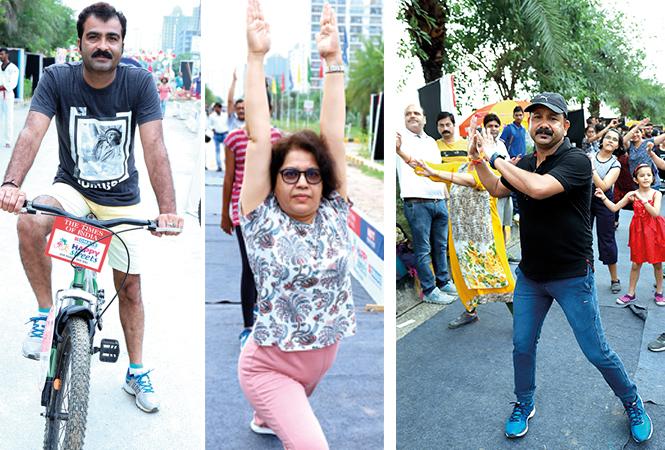 Abhishek Kapoor, Vinita Mishra and Vinod Pandey  (BCCL/Aditya Yadav)