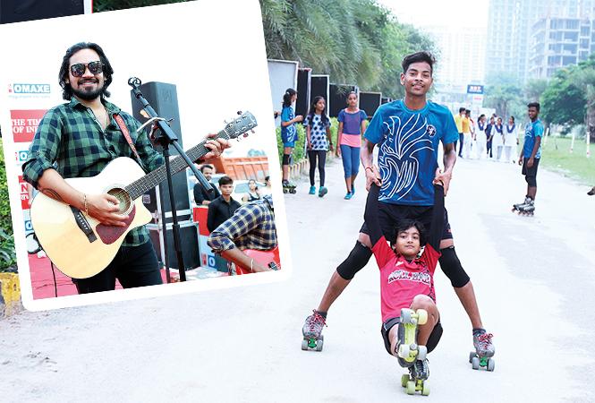 Shivam Mishra (Inset) and Manav Verma  and  Shivangi Singh   (BCCL/Aditya Yadav)
