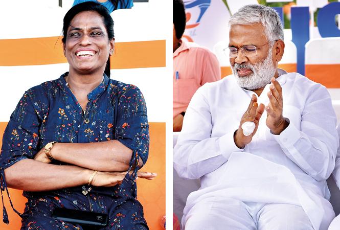 PT Usha and Swatantra Dev Singh  (BCCL/ Farhan Ahmad Siddiqui)