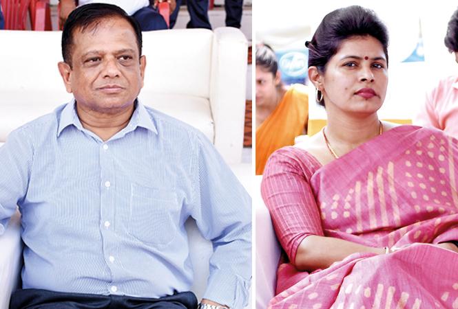 Shishir Jindal and Swati Singh (BCCL/ Farhan Ahmad Siddiqui)
