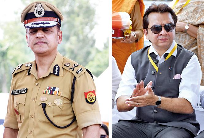 Vinod Kumar Singh and Gaurav Prakash (BCCL/ Farhan Ahmad Siddiqui)