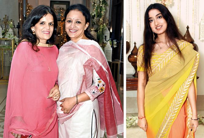 Vasavi Shukla and Mrinalini Pandey (L) and Aradhna Misra (BCCL/ Farhan Ahmad Siddiqui)