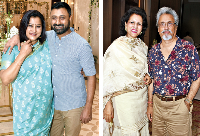 Rati Misra and Mayank Dubey with Renu and Kush Bhargava  (BCCL/ Farhan Ahmad Siddiqui)