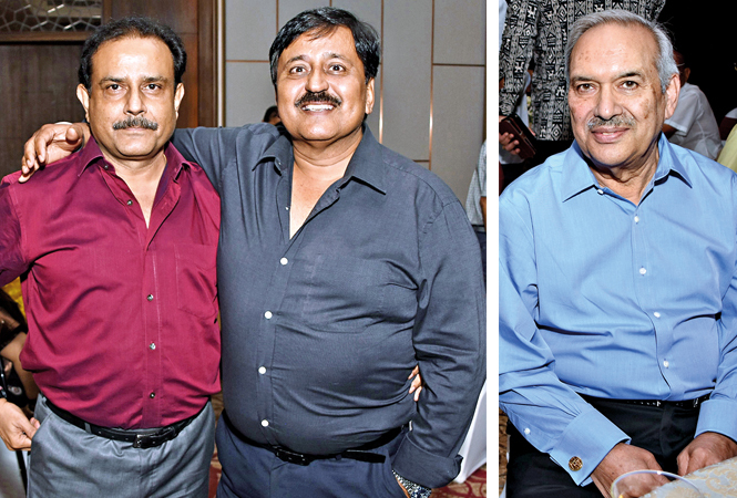 Yashovardhan & Mukuljeet Singh and Amarjit Singh Talwar  (BCCL/ Farhan Ahmad Siddiqui)