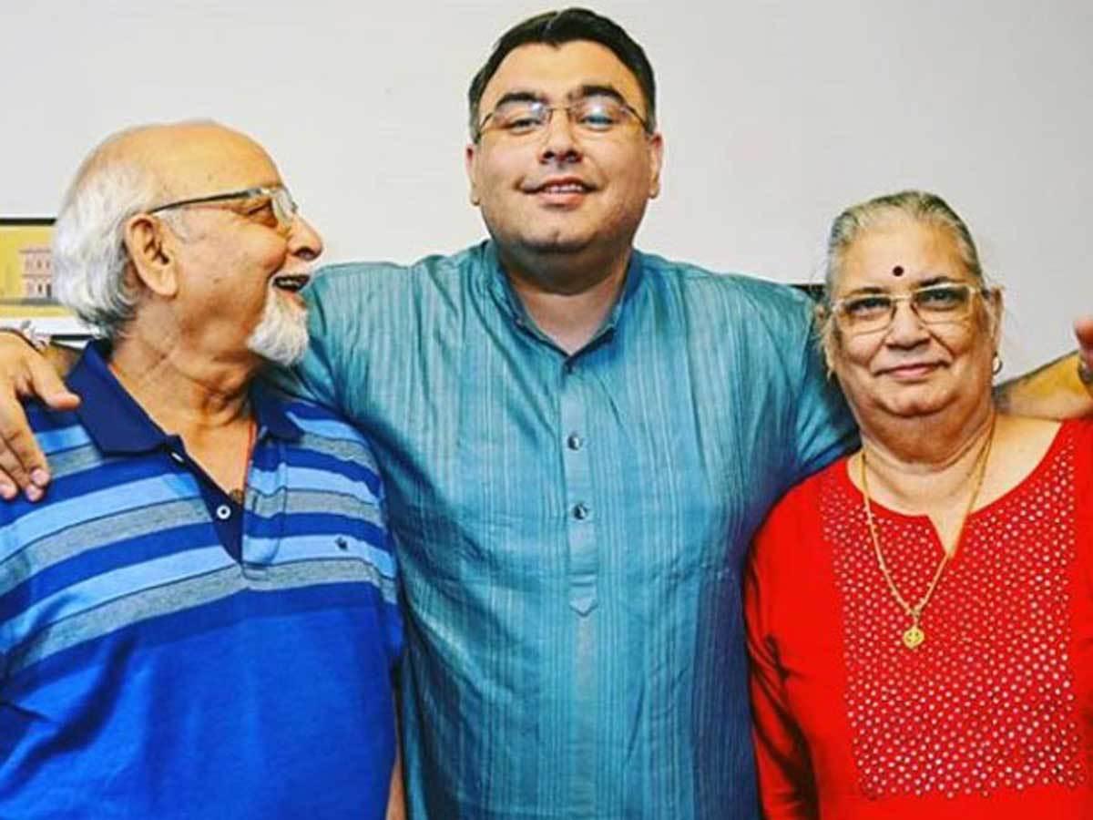Gagan-with-Parents