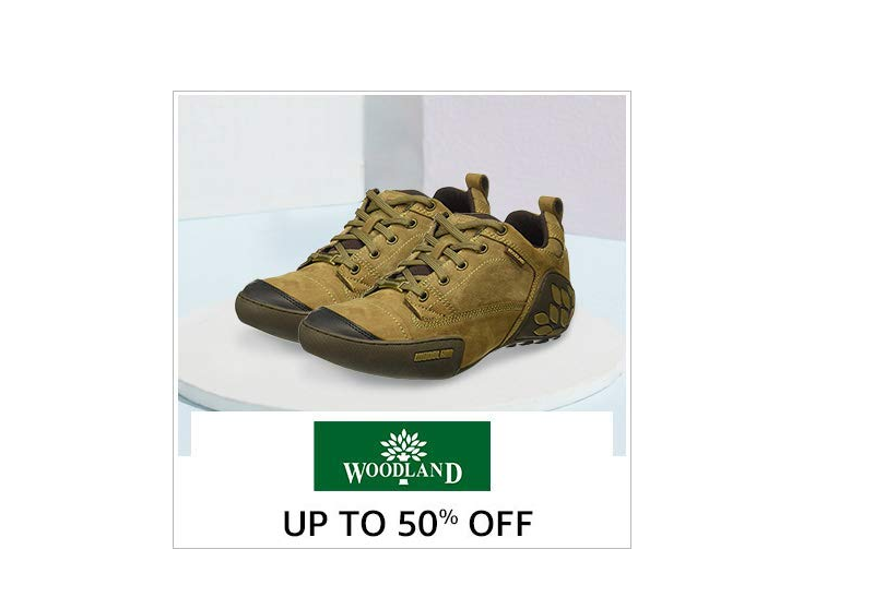 Up to 50% off on Woodland