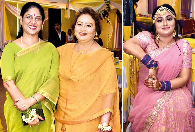 Vani Awasthi (L) & Manju Srivastava with Kamya Kulkarni (BCCL/ Farhan Ahmad Siddiqui)