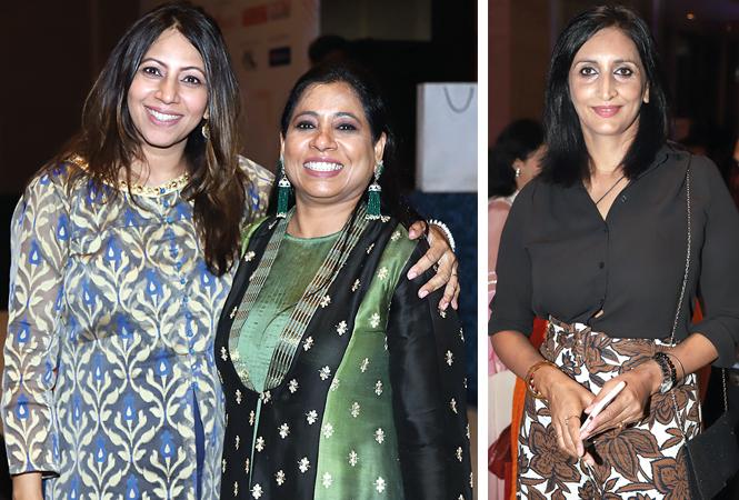 Rajika Mittra (L) and Pooja Chadha  with Rajshree  (BCCL/ Aditya Yadav)