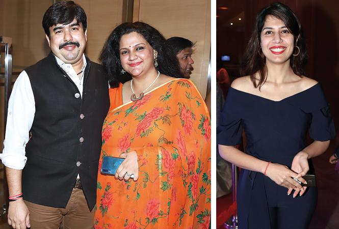 Rahuljit Singh and Minakshi  and Rhea  (BCCL/ Aditya Yadav)