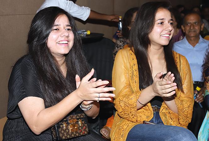 Isha Prasad (L) and Vasundhara Prasad   (BCCL/ Aditya Yadav)