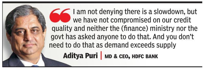 Will use tax breaks to grow, pass on benefits: HDFC Bank's Aditya Puri