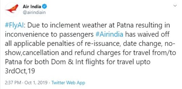Air India tweet (1)