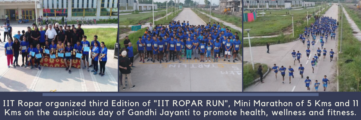 IIT Ropar organizes mini marathon