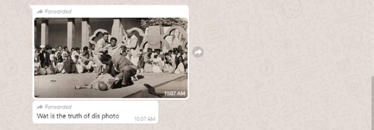 WhatsApp Query