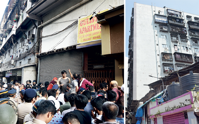 Water and power supply to the building will be restored after residents undertake to vacate the premises peacefully within the stipulated period and vow they won't sell their properties in the meantime