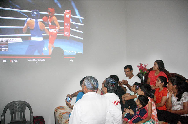Manju settles for silver at World Boxing C'ships