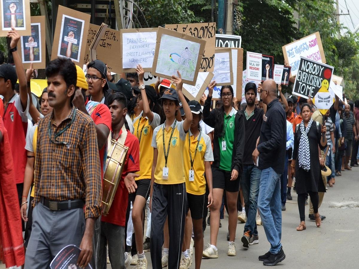 Bengaluru's Mahadevapura residents rise against elected ...