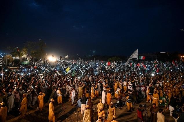 Pak protestt
