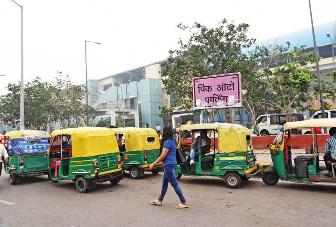 Nearly four years on, regular autos park at the pink auto stand near the Botanical  Garden Metro Station in Noida, and only 25 pink autos ply in the city