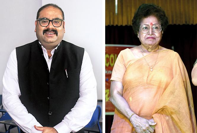 Dr K Bazmi Yunus (L) and AS Khan (BCCL/ Vishnu Jaiswal)