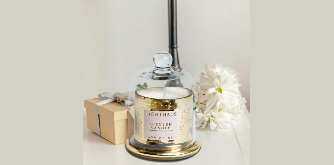 Scented candles for fragrance and warmth