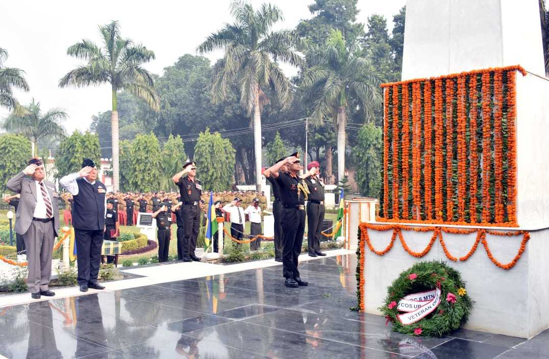 Paying tribute to the martyrs
