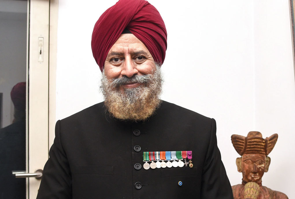 Squadron Leader Rana TS Chhina (retd), Secretary, Centre For Armed Forces Historical Research at USI