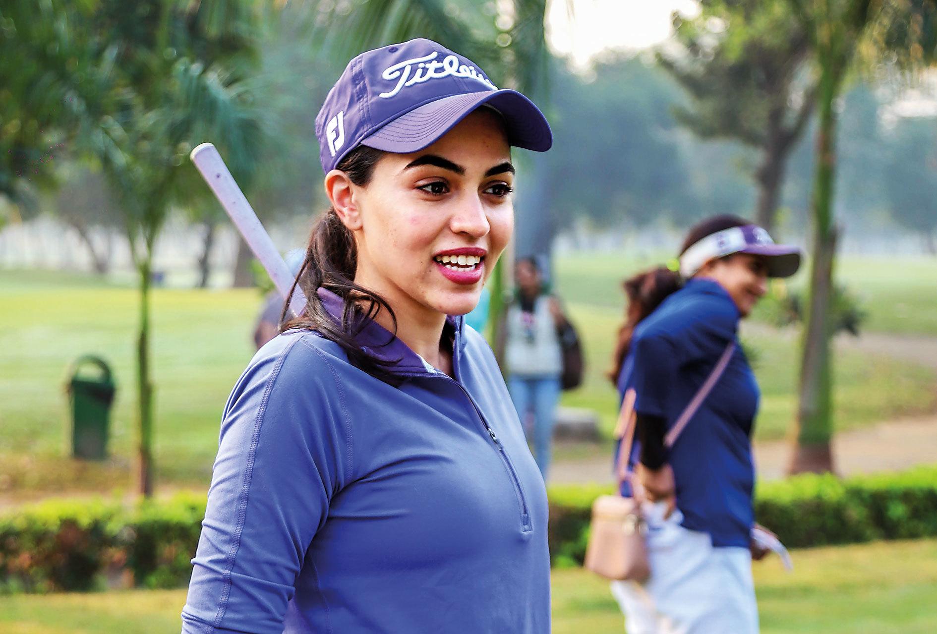 Gauri Monga from Delhi Golf Club