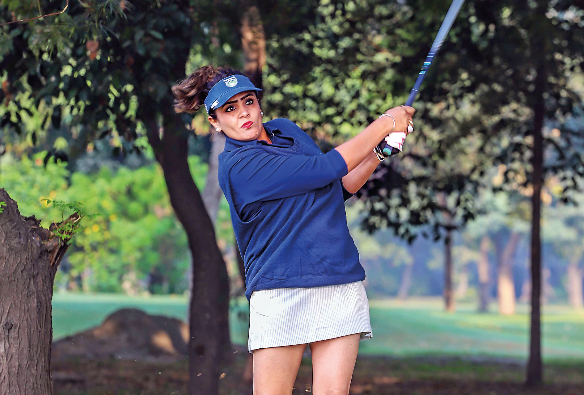 Hundreds of amateur golfers gathered at the Noida Golf Club to take part in the sixth edition  of the annual Golf  Championship