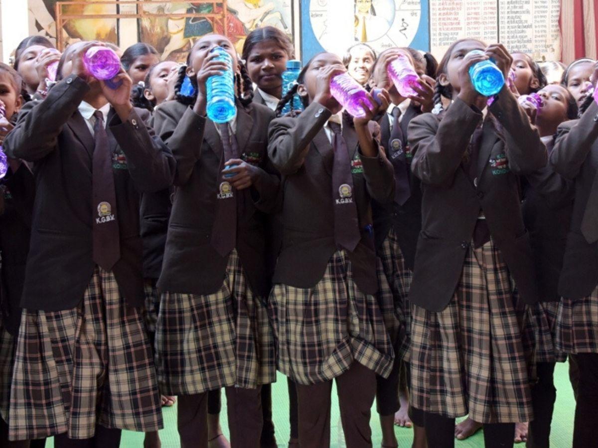 water bell chhatisarh school